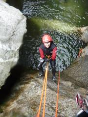 P1120375 (Mountain Sports Alpinschule) Tags: blue mountain sports lagoon canyoning zillertal zemmschlucht alpinschule