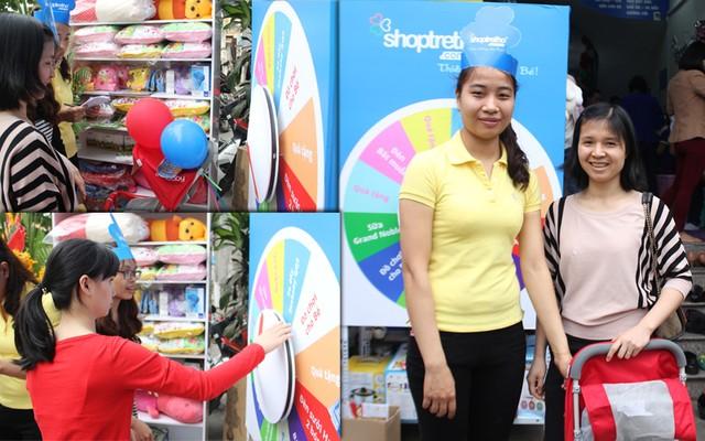 Đại tiệc sinh nhật Shop Trẻ Thơ 7 tuổi: Quay thưởng trúng lớn