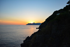 DSC_0288 (chriswalts) Tags: ocean travel sunset italy holiday cinqueterre