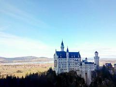 Neuschwanstein Castle, Germany (ploynatchana) Tags: travel sky building castle architecture germany landscape deutschland bavaria outdoor neuschwanstein schloss schlossneuschwanstein swanstone