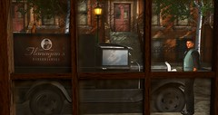 From The Haberdashery (Simon Sonnenblume) Tags: window glass car truck secondlife chamber haberdashery selfie