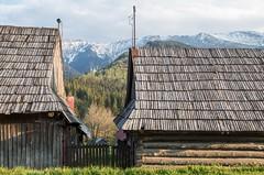 Wooden houses in diar (s.chivers) Tags: slovensko slovakia diar