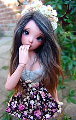 Nevaeh <3 ( DutchDevil ) Tags: doll tan mini antlers mio moe bjd fl fairyland msd mnf minifee