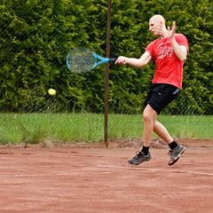 Henrik Wester 2012-06-09 (Michael Erhardsson) Tags: juni tennis henrik 2012 htk wester tvling forehand topspin hallsberg hallsbergstrffen
