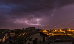 La dlivrance ! (MathieuGoalard Photographies) Tags: storm nature clouds photography lights photo thunderstorm lightning paysage extrieur lumires mto clair poselongue