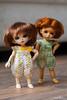 new in my Etsy shop (_vasilka_) Tags: knitting doll handmade crochet knit clothes cotton etsy jaime multicolor puki rompers pukipuki pukifee