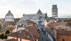 Pisa Sunset 19 (chriswalts) Tags: travel sunset italy streets tower night pisa leaning
