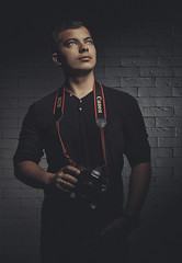 Man portrait (Vadim.Cojuhov) Tags: light boy shadow portrait white man texture face look contrast canon pose dark studio 50mm photo amazing model eyes hands background handsome indoor x sharp american 1d static emotions magazin highlight 6d clerity