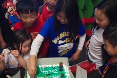 8511 Warriors (mliu92) Tags: birthday party daughter sanmateo figgy minecraft