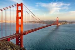 Golden Gate Bridge (Giuseppe Moschetti.) Tags: usa america nikon san francisco united battery states spencer uniti giuseppe stati d810 moschetti 1424mm