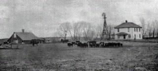 Jacob Hoobler III, Ranch House and Barn in Loup County, Nebraska 1902