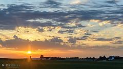 Big Iowa Sky (Nick Chill Photography) Tags: sunset nature landscape scenic iowa stockimage