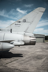Typhoon... (Arthur Janin.) Tags: leica sl typ 601 summilux m 35 mm 35mm f14 asph fle euro fighter plane aircraft fighting chasseur italy italia blue sky cloud porn pointu typhoon eurofighter air force