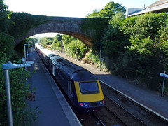 43174 Liskeard (1) (Marky7890) Tags: fgw gwr 43176 class43 hst 1c86 liskeard railway station cornwall train