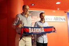 Primer día de Sito en Baskonia