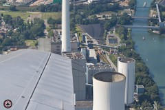 Herne Kraftwerk (foto-metkemeier.net) Tags: ltuclassics dinka dehavillanddove luftbilderruhrgebiet luftbilderduisburg luftbilderessen luftbildercrangerkirmes crangevonoben rundflug ruhrgebiet