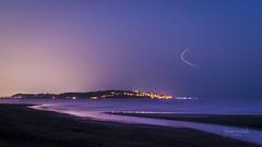 Suruchi Beach 3 (Gladson777) Tags: light sunset sea summer india beach twilight long exposure village streak sony arabian alpha mumbai lightroom 58 vasai 2015 suruchi a parulekar uttan dongri