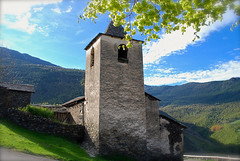 Esglsia de Santa Maria de Ginestarre (Xevi V) Tags: catalonia catalunya pyrenees pyrnes pirineus esterridecards ginestarre valldecards pirineucatal santamariadeginestarre