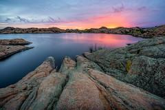 Willow-Lake-9064 (Michael-Wilson) Tags: sunset arizona reflection sunrise az prescott willowlake michaelwilson