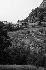 Savandurga (Jnarin) Tags: bw nature vertical landscape outdoors temple bangalore fulllength nopeople karnataka savandurga blackandwhiteimage focusonforeground aroundbangalore canonef24105mmf4lusmis niranjvaidyanathan canoneos5dmarkiii greyscaleimage