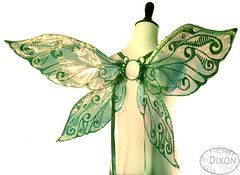 Junebug No.1 Medium Fairy Wings (RSDixonArt) Tags: halloween glitter butterfly costume wings cosplay magic fairy fantasy masquerade wearableart cellophane fairywings
