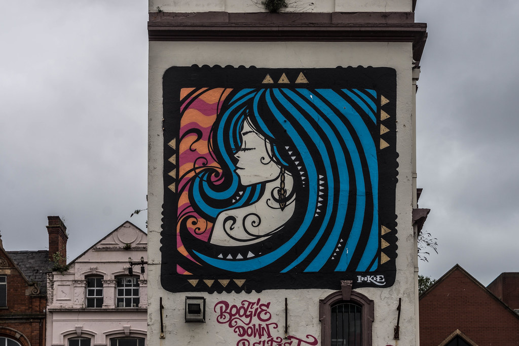Street Art In Belfast [May 2015] REF-104691
