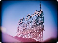 El Cortez (Jim Nix / Nomadic Pursuits) Tags: travel sign vintage photography neon cityscape lasvegas nevada olympus fremontstreet fremontstreetexperience oldvegas elcortezhotel nomadicpursuits jimnix olympusomdem1