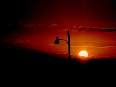Caribbean Sunset (۞ HenryRosco) Tags: sunset sun skye yellow photography lights nikon caribbean lamps teamnikon newphotographers