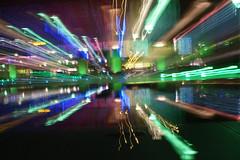DSC07007 (Emily Hanley Photography) Tags: light colour bristol lights experimental sony casino lighttrails slowshutterspeed