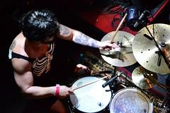 DSC_0242 (francoleonph) Tags: boss argentina rock metal drums 50mm concert nikon drum bass guitar peavey guitars recital mendoza fender drummer pedals rockshow effect metalcore guitarist ibanez numetal rencor nikond3100