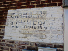 Chamber of Commerce, Greensburg, IN (Robby Virus) Tags: brick sign wall alley commerce ghost indiana faded signage chamber greensburg