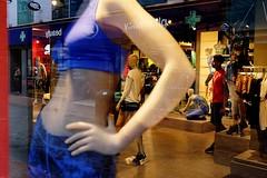 _DSF8630 (travelstreetmodel) Tags: street reflection london shop model dummies boots streetphotography carnabystreet puma dummy fuji23mm fujixt1