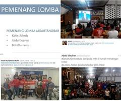 Lokasi Nobar: Voila! Ini para pemenang kategori @JakartaNobar. Total ada 43 peserta lomba #SeruItuNontonBola untuk kategori tsb. Ketiga pemenang udah dapet hadiahnya tuh, udah dipake telpon-telponan sama ceweknya.. :p Mewakili seluruh manajemen Lokasi Nob (lokasinobar) Tags: barcelona madrid city milan roma liverpool indonesia manchester real bayern la football chelsea soccer united bola arsenal serie juventus tottenham inter bareng psg liga epl suporter persija lokasi nonton persib a sepakbola nobar arema kuliner nonbar