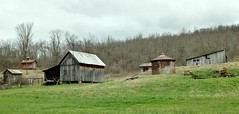 Outbuildings Color (Neal3K) Tags: ohio abandoned rural farm overcast sheds