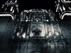Cathedral of Zacatecas, Mxico #mexico #urban #cathedral #zacatecas #blackandwhite (alejandro_gall) Tags: urban blackandwhite mexico cathedral zacatecas