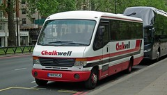 Chalkwell YN53 EJG (tubemad) Tags: mercedes cheetah ejg plaxton chalkwell yn53 o814
