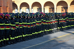 Pledge of Allegiance 76th Course V.V.F. Heroes Every Day / Capannelle / Roma / Lazio. (rossolavico) Tags: italien italy rome roma europa europe italia sca lazio vvf capannelle fileraw rossolavico squatritomassimilianosalvatore filerawnef viewnx2users scuolecentraliantincendi