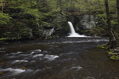 Deer Leap Falls, part of the Delaware Water Gap in the George W. Childs Recreation Area, PA (jkrieger84) Tags: nature water landscape waterfall nikon delawarewatergap deerleap deerleapfalls georgewchilds d7200