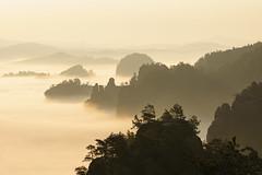 Nebeltraum (Explore) (Philipp Zieger) Tags: landscape nebel sachsen landschaft sonnenaufgang schsischeschweiz elbsandsteingebirge elbsandstein kleinerzschand