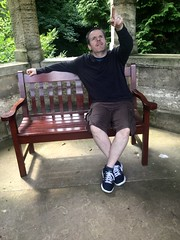 Thoresby Hall (darrenboyj) Tags: summer garden bench emotion pointing thoresbyhall