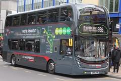 National Express West Midlands Alexander Dennis Enviro400 MMC 6743 (SN15 LHW) (Walsall) 'Manahil' (john-s-91) Tags: birmingham 6743 nationalexpresswestmidlands route936 alexanderdennisenviro400mmc sn15lhw