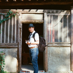 (lovelyivan) Tags: 120 6x6 tlr film rolleiflex scenery asia kodak taiwan oldbuildings tainan    schneiderkreuznach ektar c41   28e   xenotar80f28