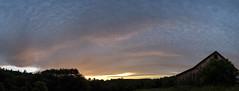 Sunset Series 2/3 (koperajoe) Tags: sunset sky weather clouds mackerel twilight newengland climate cirrocumulus westernmassachusetts altocumulus clouddeck