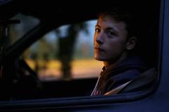 John (MigKenzie Photos) Tags: street uk light face car john dark person scotland twilight photos teenager migkenzie migkenziephotos