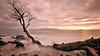 In Time the Sea Will Part this Tree (Kevin Benedict Photography) Tags: ocean longexposure light sunset beach clouds landscape island volcano hawaii lava evening nikon warm pacific rocky maui haleakala shore rays volcanic hotspot seas dormant wailea makena kahoolawe shieldvolcano singhray 10stop photobenedict