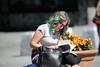 Woman reading book (LLysaght) Tags: hairtint greentint glasses woman reading