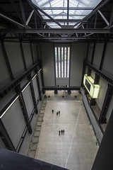 Turbine Hall From The Bridge, Tate Modern, London (IFM Photographic) Tags: img8752a canon 600d tamron 1024mm sp1024mmf3545 tamronsp1024mmf3545 london londonboroughofsouthwark southwark tate tatemodern banksidepowerstation bankside artgallery gallery art turbinehall thebridge bridge