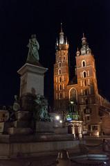 Krakow druga rano-110 (MMARCZYK) Tags: polska krakow nuit noc mariacki cracovie rynek pologne kosciol glowny
