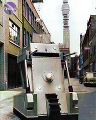 Doctor Who - The War Machines (Colourised) (jmwcolouranddesign) Tags: color colour classic television tv time who space archive doctor colorized doctorwho polly scifi drwho tardis anneke craze sixties colorize colorization warmachine colourised colourisation colourise wotan hartnell