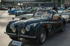 1954 Jaguar XK120 Drophead Coup (Cabriolet) - 79.350  (el.guy08_11) Tags: paris france ledefrance 1954 voiture collection jaguar